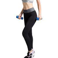 Wholesale Brand Women Yoga Sports Pants Elastic Waist Tights Female Plus Size Sports Leggings Fitness Running Trousers Slim Leggings