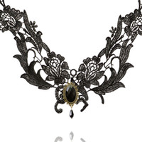 america offers - special offer sales in Europe and America fashion lace Gothic Necklace Boutique Princess Lolita Necklace