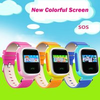 baby control devices - Kid Smart Watch Wristwatch SOS Call GPS Location Q60 smartwatchs Device Tracker for Kid Safe Anti Lost Monitor Baby Gift