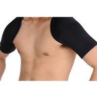 Wholesale High Quality shoulder sleeve compression Basketball Running football Movement warm Shoulders Protection back Support back belt