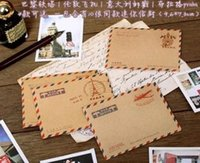 Wholesale pack stationery and envelopes creative fashion Cute Mini envelopes Gift Envelope retro romantic style