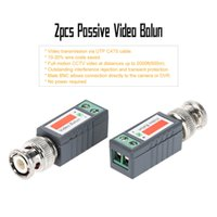 Wholesale 600m Passive Video Balun Video Transmission Via UTP CAT5 Cable BNC Passive Transceiver Full motion CCTV Videor