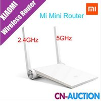 Wholesale Original Xiaomi Router Mini MI Router Smart Router White Black Dual band GHz GHz Maximum Mbps Support Wifi AC