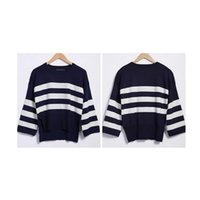best women s sweaters - Best Selling Pullover Women Sweaters Sweater Factory in China Striped Design Hi lo Buttom Autumn Women Knit Sweater A036