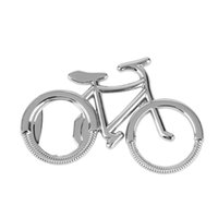 Cheap sale Bicycle Metal Beer Bottle Opener Cute Bike keychain key rings for bike lover Wedding Anniversary Party Gift New Arrival