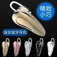 Wholesale Mini bluetooth headset hangers type ultra small wireless vehicular earplugs into mobile phone tablet general driving movement