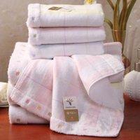 Wholesale 2pcs New Born baby Cotton Washcloths Untwisted gauze Kids Towel X34cm
