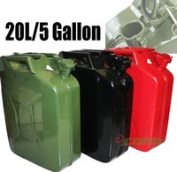 Wholesale Black Red Green Jerry Can Gasoline Fuel Refill of NATO Gallon Steel Tank