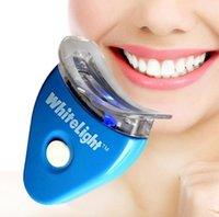 Cheap Dental Bleaching lamp whiten Teeth Cleaner Whitener System Whitelight Kit Set White light Women men Tooth Care Brightening