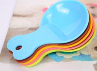 Wholesale High quality Pet Food Spoon Candy color Dog food shovel cat food bowl spoon Pet Products D737
