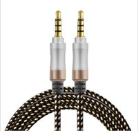 audiophile speaker cables - 200pcs Audio Stereo Cable FT mm Male to Male Braided Stereo Aux Cable Audiophile Grade Cable Audio Premium Metal Stereo Audio Cable