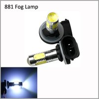 Wholesale 2pcs LED White W LED Car H27 LED Fog Bulb Lamps OEM