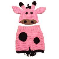 baby giraffe halloween costume - Crochet Newborn Pink Giraffe Costume Handmade Knit Baby GirlAnimal Giraffe Hat and Shorts Set Halloween Costume Infant Toddler Photo Prop