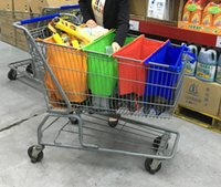 Wholesale 20 Discount off Reusable Grocery Cart Trolley Shopping Non woven Fabric Bag Set