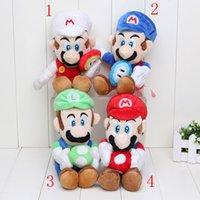 Multicolor baby luigi plush - 2pcs Super Mario Ice Flower Luigi Ice Flower cm Super Mario Bros Plush toy Baby Doll