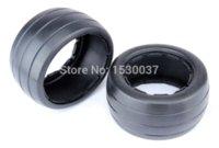 baja truck tires - Rear Slicks Tire pc fit HPI Rovan baja b King motor truck tyre nail