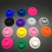 base cup - Cheapest eCig silicone Dock EGO battery Silicon rubber case ego sucker ego base ego suction cup ego holder ego stands portable e cigarette