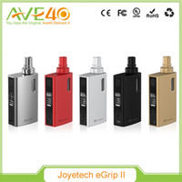 add game - 100 Orgina Joyetech eGrip II Kit Newly Added with Game Mode with Multiple LED Colors Joyetech eGrip II W Starter Kit with mah Battery