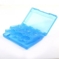 Wholesale 2016 Vogue Sale New in Game Card Case Holder Cartridge Box for Games Cards Storage Colorful