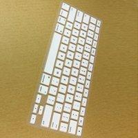 Wholesale enlish language US layout Silicone Keyboard Skin Cover Film For macbook Pro Retina keyboard Cover for mac book Air