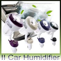 aroma apple - Nanum II Car Charger Air Humidifier Vehicular essential oil ultrasonic humidifier Aroma mist car fragrance Diffuser DHL