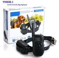 Wholesale Electric Dog Training Collar With Remote Rechargeable Waterproof LCD Screen Yard Beep Vibration Shock For Small Medium Large Dogs