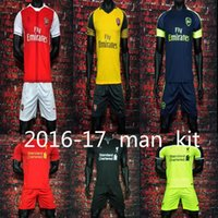 Wholesale mixed order Leicester CityThai Quality Arsenal Soccer Jerseys OZIL WILSHERE RAMSEY ALEXIS rugby jerseys football shirt