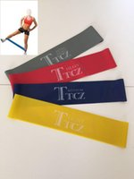 ankle bands exercise - A4 Set of New Ankle Resistance Bands Fitness Loop Workout Leg Butt Lift Exercise H210545