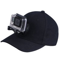 Wholesale For Gopro Accessories Hat With Base For Gopro Hero SCJAM SJ4000 SJ5000 Xiaomi YI Sport Action Camera