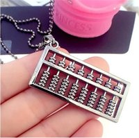 abacus singapore - accessories fashion personality all match abacus sweater chain long necklace long summer new accessories