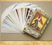 la memoria de la vendimia vieja tarjeta de felicitación de cumpleaños tarjeta postal postal del regalo de la manera para el amigo 32pcs / set OC002