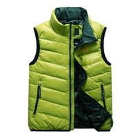 Wholesale Men s Vest Ultra Light Duck Down Vest Outdoor Sleeveless Jacket Gilet Men s Waistcoat hiking waterproof climbing