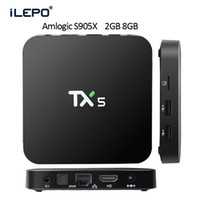 android hardware - Smart Android TV BOX Amlogic S905X TX5 KODI pre installed G G Quad core WIFI Streaming Box support K H Hardware Video Decode