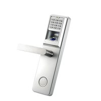Cheap Wholesale-Aluminum Wooden Doors Anti Theft Controller Biometric Fingerprint Safe Lock LA801 Pin Code Door Lock