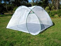 Wholesale Portable Foldable Mosquito Net Tent Insect protection nets Anti Bug Net net tents PERSON Folding Mosquito Net