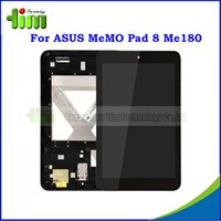 asus tablet pcs - Original quot LCD For ASUS MeMO Pad ME180 ME180A Tablet PC LCD Display Touch Screen Digitizer with Frame Assembly Tim4