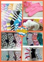 Wholesale Warm Fuzzy Socks of Thermal Warm Women Soft Indoor Fluffy Lovly Socks Multi Colors