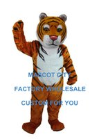 bengal tigers - Bengal Tiger Mascot Costume Adult Cartoon Character Party Carnival Theme Mascotte Outfit Fit Fancy Dress SW914