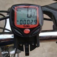 Wholesale Cycling Computer Leisure Functions Waterproof Odometer Speedometer With LCD Display Bike Speedometer Bicycle Cycling Computer