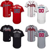atlanta shirt - 2016 Flexbase Custom Atlanta Braves men s shirts Authentic Personalized Double cool base Stitched Onfield Baseball Jersey SIZE S XL