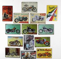 beat media - Beat Garage for Motorcycles tin poster sign Bar hot Cafe hot deco poster x12 inch x30cm Mt03