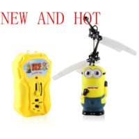 aircraft carrier models - New Aircraft Model Toy Children Kids Boy Toys Birthday Gift Despicable Me Minion Helicopter pc