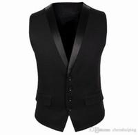 Wholesale Spring Autumn New Mens Suit Vest Fashion Casual Dress Vests for Men Slim Fit Waistcoats Outerwear