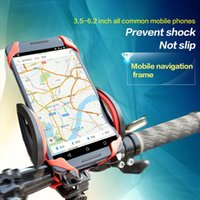 Wholesale New Bicycle Handlebar Cell Phone Holder GPS Bracket MTB Mountain Road Bike Bag Elastic Supporter Cycling Accessories K3319