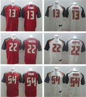 Wholesale Buccaneers football jerseys GOLDSON MARTIN EVANS WINSTON elite Football Jerseys by EMS Men size