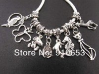 Wholesale 2014 Promotion Direct Selling Metal Beads Crafts And Scrapbooking Mix Beastie Dangle Beads Fit Charm Bracelet