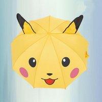 animal handle umbrella - Super Q Multifunction Household Goods Children Umbrella Creative Cute Poke Cartoon Animal Ear Automatic Umbrella Sunny