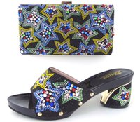 african bag designers - Cherry Lady New Arrival Black Color Women Shoes and Bag To Match for Parties African for Party Women Italian Designer Shoes