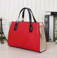 best pillow brands - calf leather G01 brand women handbags Ladies totes big size women bags red black fuchsia Best birthday gift for girlfriend