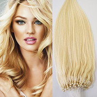 brown beauty gift pack - High Quality A Micro Ring Loop Human Hair Extensions Natural Soft Real Beauty Straight Hair Gift g s strands in one pack